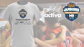 Activa presenta las camisetas oficiales del II Jamboree Anselmo López
