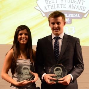 Cristina Adán y Gonzalo Suárez , ganadores del BSA