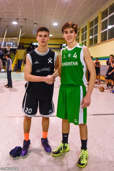 Manzanero y Olmedo MVPs