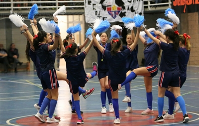 Las Cheerleaders de San Agustín, en acción