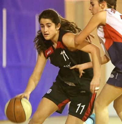 Decisiva Lucía Gutiérrez en el último cuarto