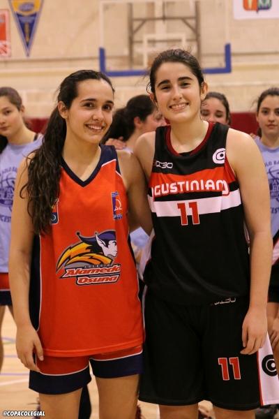 Cristina de la Cruz y Lucía Gutiérrez