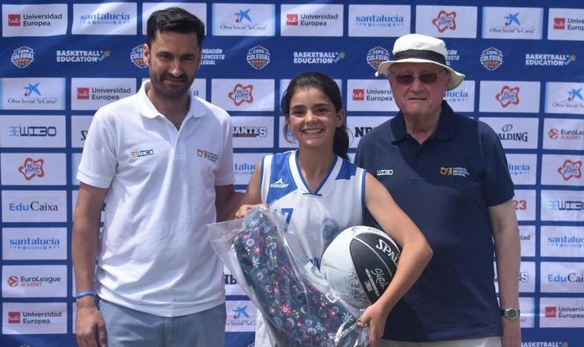 """Aitana Nicolás, MVP del Jamboree: """"Ha sido una experiencia muy bonita"""""""