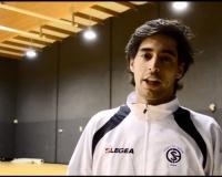 Alejandro Maroto en el Salon de la Fama del Baloncesto Colegia