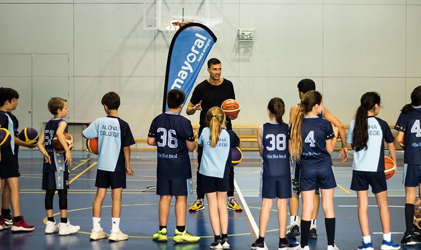 """Alfonso Sánchez: """"El fallo es otra oportunidad que te da el baloncesto para hacerlo bien"""""""