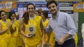 Andrea Gascón de Luna, la más valiosa de la Copa Colegial Sevilla 2018