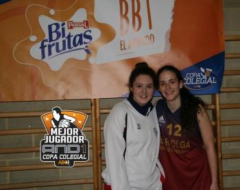 Vecino y Navarro, elegidas MVPs And1