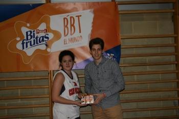 Cristina Vecino, Mejor Jugadora de la 2ª Semana