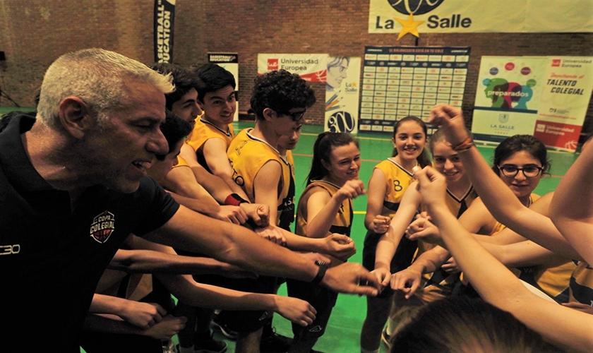 Arlauckas embajador del talento colegial de la Universidad Europea en Valladolid