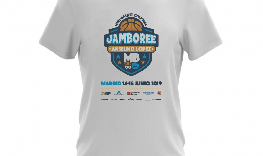 Así de guapo lucirás en el III Jamboree Anselmo López con las camisetas de este año
