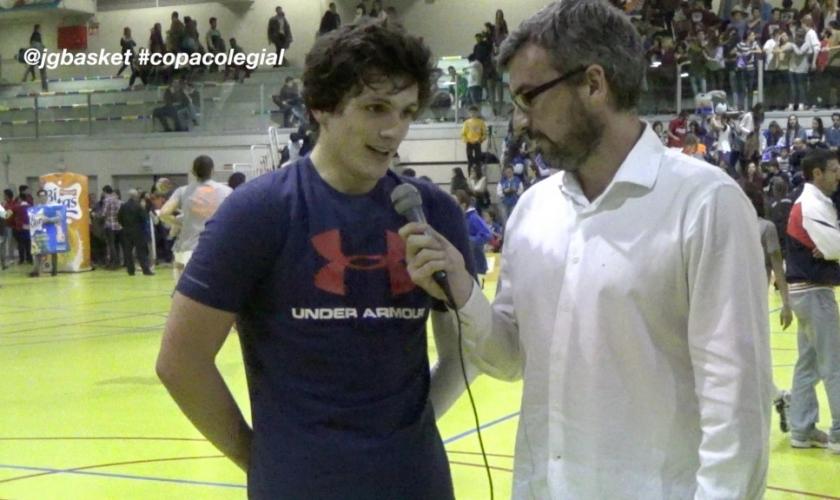 Así jugaba Edu Rubio, el MVP de la Copa Colegial Madrid 2015 con Fomento Fundación (VÍDEO)