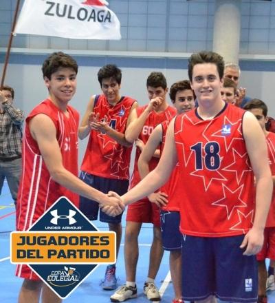 Martín y Gómez., Jugadores del Partido