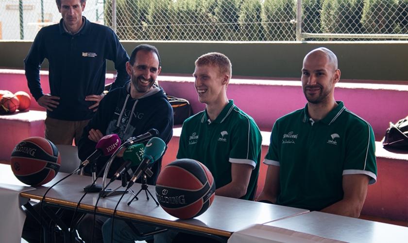 BIE: Deporte y salud se unen en el Colegio El Monte FESD con Dani Romero y Fco. Jaime Muñoz
