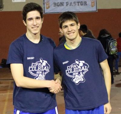 Javier Ruiz y Alex Padrós, los mejores