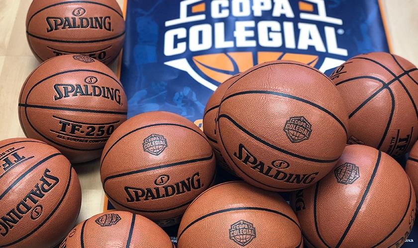 Botando juntos: Spalding se une a la Copa Colegial y será el balón oficial del torneo