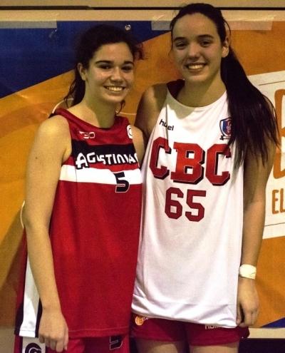 Esther Herranz y LUcía Salazar, MVPs