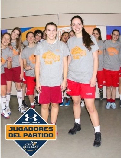 Macarena Salazar y Virgina Vergara, MVPs