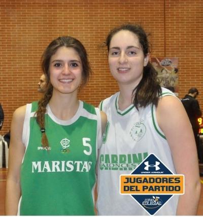 Marta Ramírez y Laura Requena lo dieron todo
