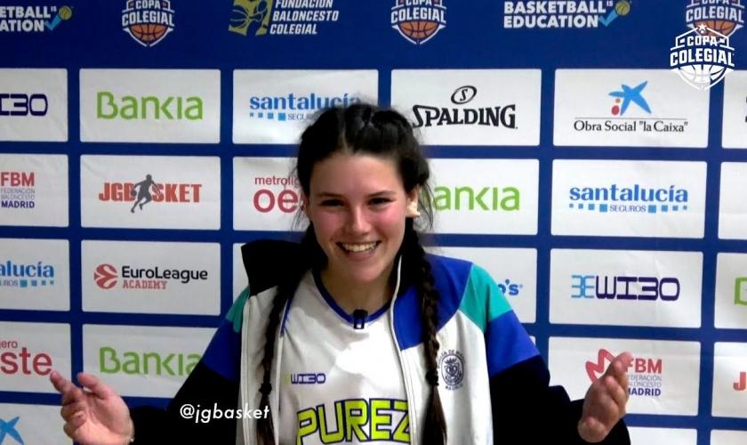 Cara de ilusión; entrevista con Lola Moreno, de Pureza de María, por JG Basket
