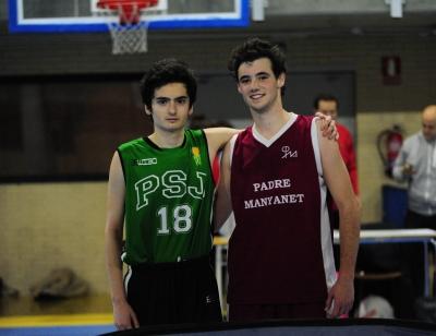 MVPS: Ignacio Madrona y Antonio Marin.