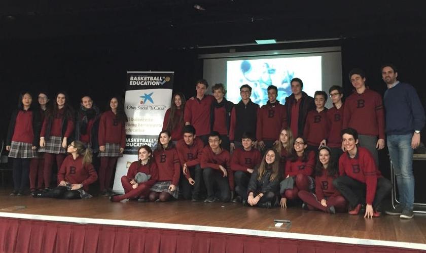 Charla BIE: el modelo de trabajo de Copa Colegial en Zaragoza