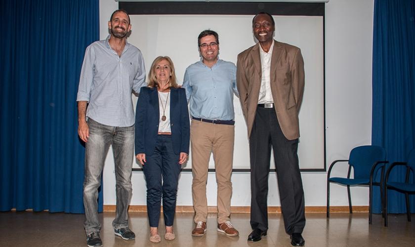 Charla BIE en El Monte FESD: Dani Romero y Francisco Jaime, valores del deporte y salud