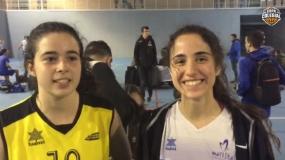 """Clara Domínguez: """"Es mi último año y me da mucha pena que se acabe la Copa Colegial"""""""
