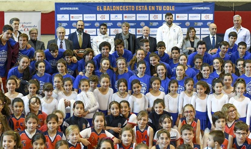 El Colegio El Pilar de Valencia, escenario de la presentación nacional de la Copa Colegial 2020