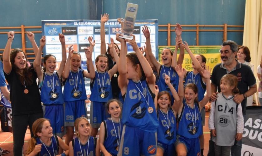 Compañía de María y Claret ganan la Pequecopa Colegial Sevilla 2018