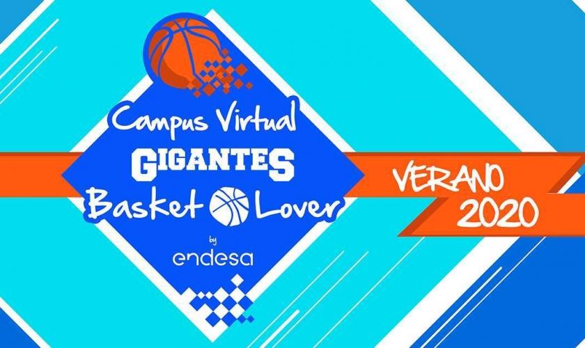 Comunicado de Gigantes del Basket: nace el primer Campus Virtual Gigantes Basket Lover by Endesa