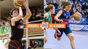 Con el 10 y de diez: Guillermo Campos y Lucía Sanz, matrículas de honor en la Copa Colegial