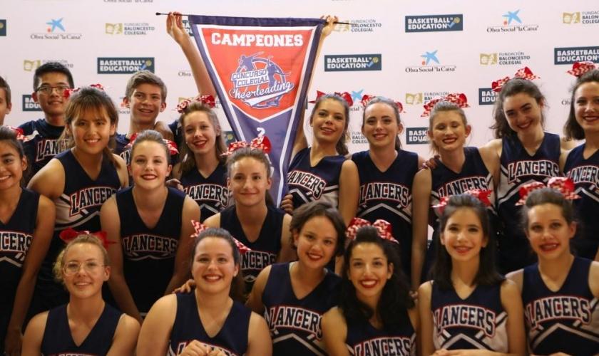 Concurso Colegial de Cheerleading (II) ASM Lancers repite Banderín