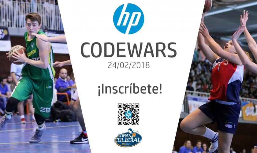 El concurso de programación HP CodeWars con la Copa Colegial. ¡Inscríbete ya!