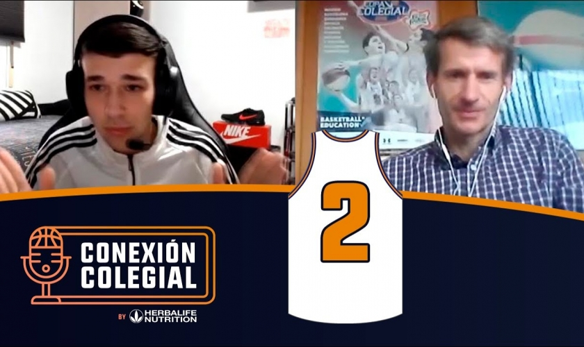 Conexión Colegial. Capítulo 2. El youtuber que revoluciona la Copa... y al habla Pablo Martínez