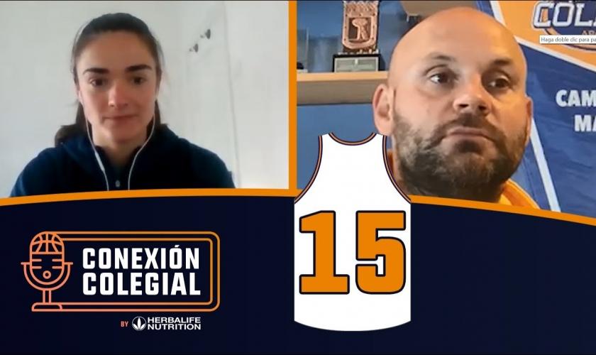 Conexión Colegial. Capítulo 15. Celia García, genes de baloncesto. Comienza Coruña, Vintage Estudio