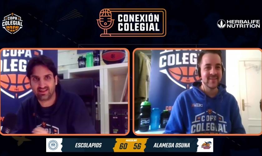 Conexión Colegial. Capítulo 19. Hablamos con los entrenadores de los colegios finalistas en Madrid
