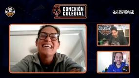 Conexion Colegial. Capítulo 10. Aprendiendo de la gran Anna Montañana. CC Madrid. Claudia Soriano..