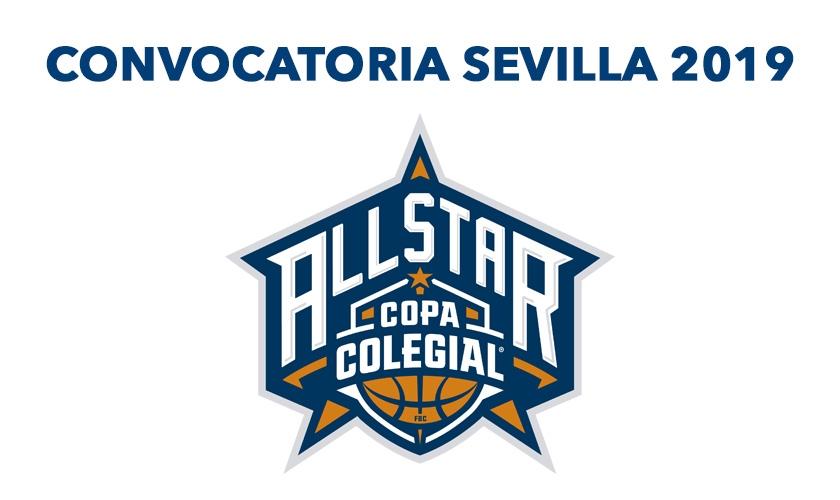 Convocatoria All Star Colegial Sevilla 2019