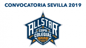 Convocatoria All Star Colegial Sevilla 2019