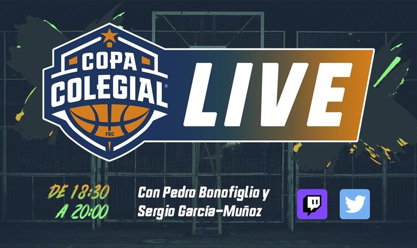 Copa Colegial Live: seguimos en directo el Primer Viernes