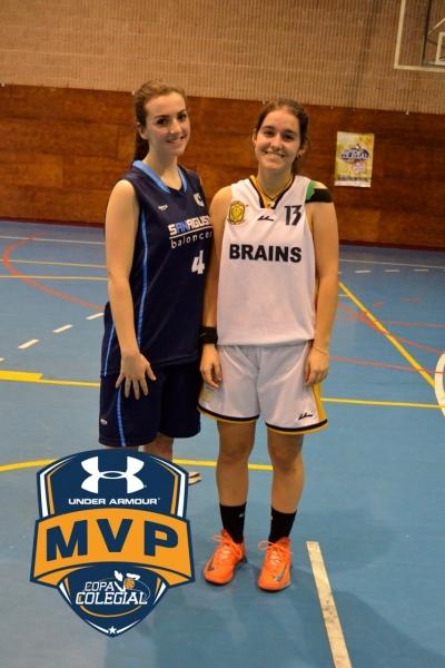 Ortiz y González, Mejores Jugadoras