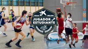 Cracks en la pista y en el aula: Patricia Martínez y Nicolás Gomez, Mejores Jugadores Estudiantes