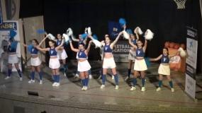 Dancing Eagles en la Presentación de la Copa Colegial 2017