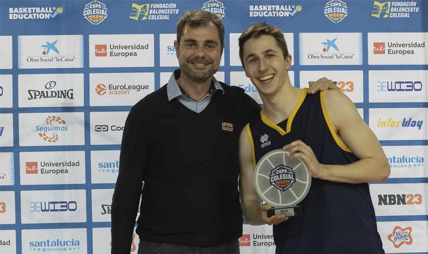 """Dani Sanz, MVP 2019: """"Este premio es un regalo que me ha hecho muchísima ilusión"""""""