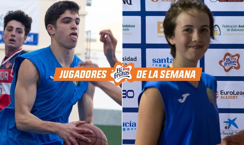 David y Clara son los MVP de IES El Majuelo y los jugadores de la semana