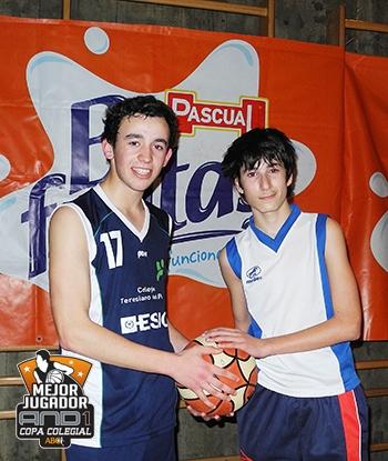 Alberto Espelosín y Enrique Moya, MVPs And1