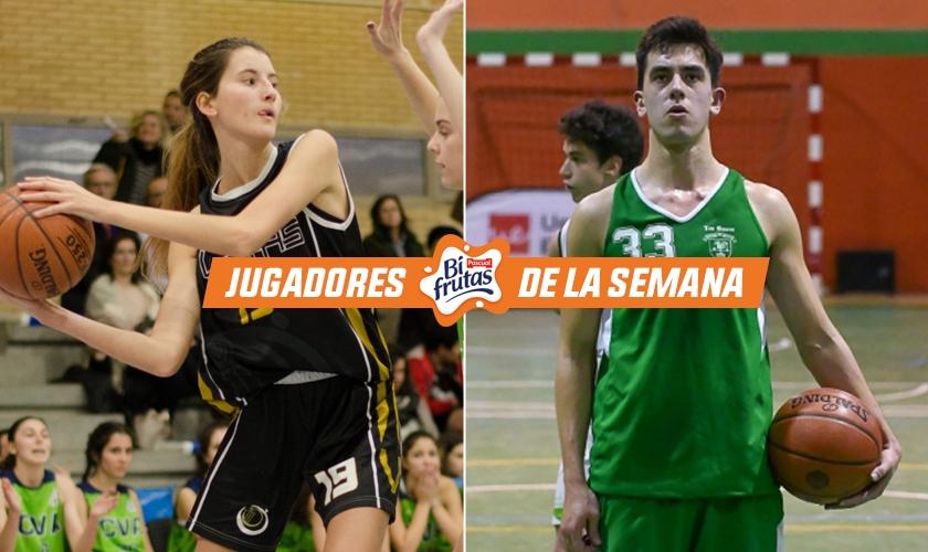Decisivos para sus coles: Pablo Rodrigo y Mar Abad, jugadores de la semana en Madrid