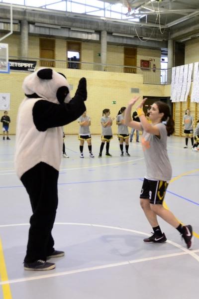 El Panda no se lo quiso perder