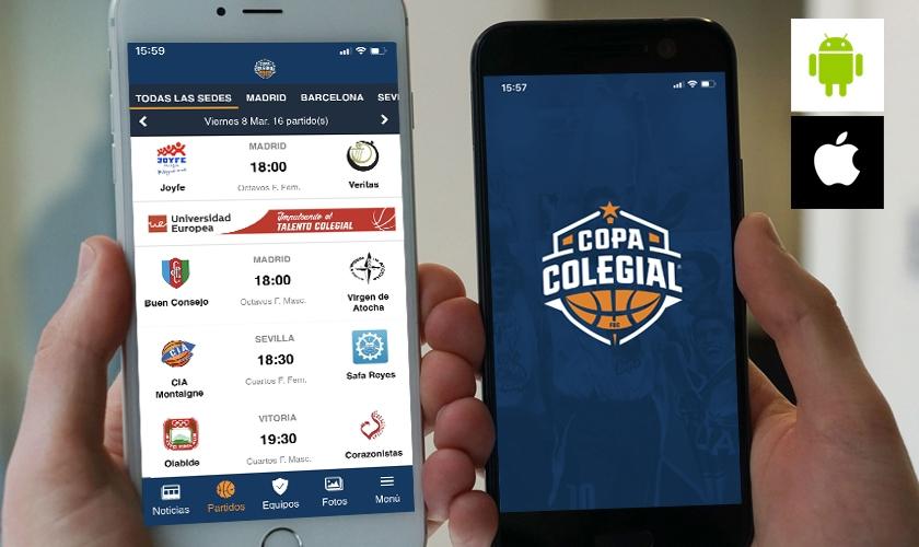 App oficial de la Copa Colegial