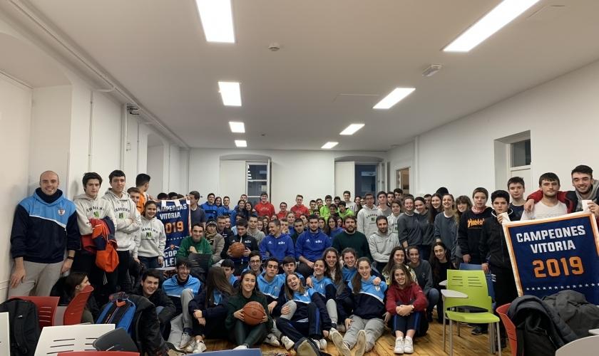 Día grande en Vitoria: presentamos la Copa Colegial 2020
